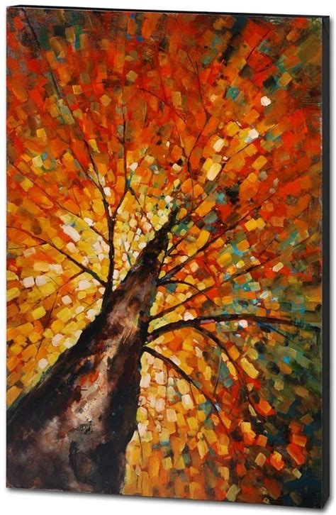 wall painting trees2018 216 best painting fall paintings images on paint throughout ideas decorations 9