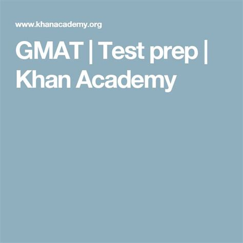 Mba Test Preparation For Szabist by Best 20 Gmat Test Prep Ideas On Gmat Test
