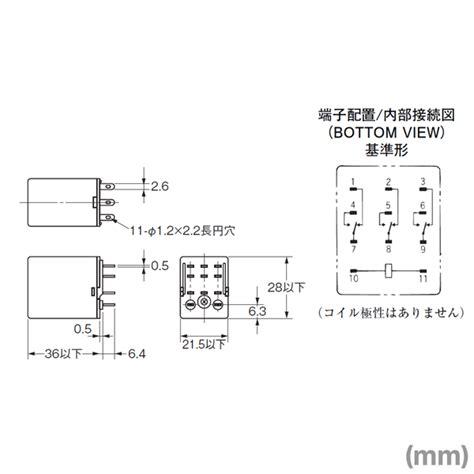 mini relay omron diagram 24 wiring diagram images