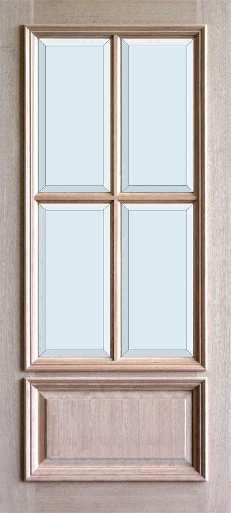 4 Lite Exterior Door Wood Divided Lite And Doors The Front Door Company