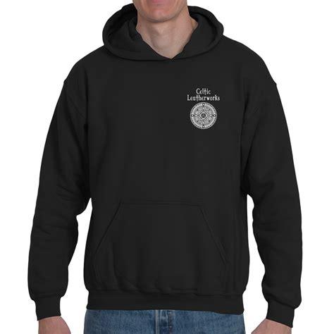 hoodie design perth the perth targe pocket hoodie celtic leatherworks