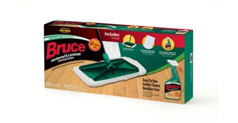 bruce hardwood laminate cleaning system with terry