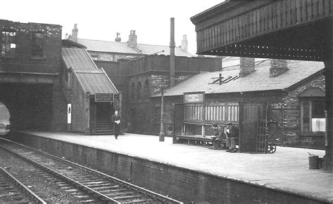 vauxhall duddeston station view  part   burnt
