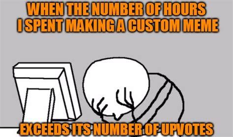 Custom Meme Generator - poor roi imgflip