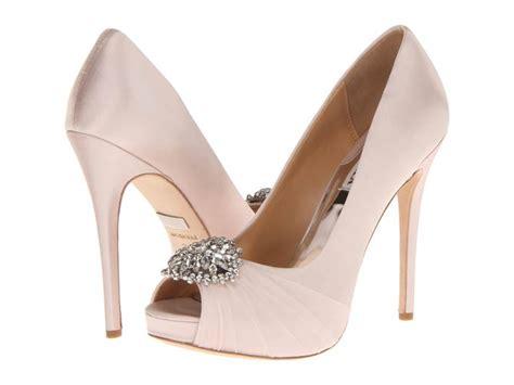 Badgley Mischka Randee Pink Satin Heels by Badgley Mischka Pettal Light Pink Satin Shoes Post