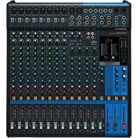 Mixer Yamaha 16 Channel Bekas Yamaha Mg16xu 16 Channel Mixer Musician S Friend