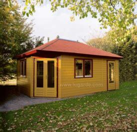 premium corner cabins with storage room deeside log cabins