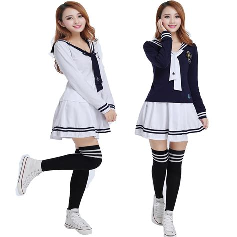 7 Stores To Buy School Clothes From This Year by Aliexpress Buy Japanese Korean Sailor Suit