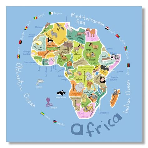 africa map for students best photos of maps of africa for students free
