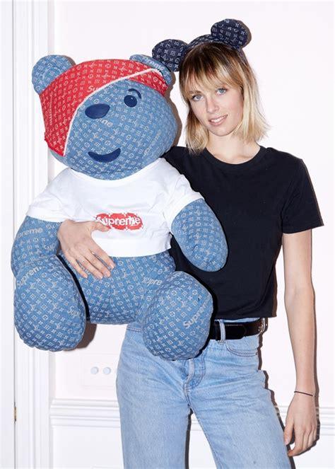 Fashion Lv Teddy B115 you can now buy a louis vuitton x supreme teddy dazed