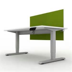 Office Desk Privacy Screen Ez Lift Height Adj Desk W Privacy Screen 60w Officefurniture