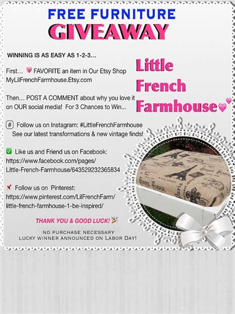 Free Sofa Giveaway - 206 best images about little french farmhouse 1 be inspired on pinterest