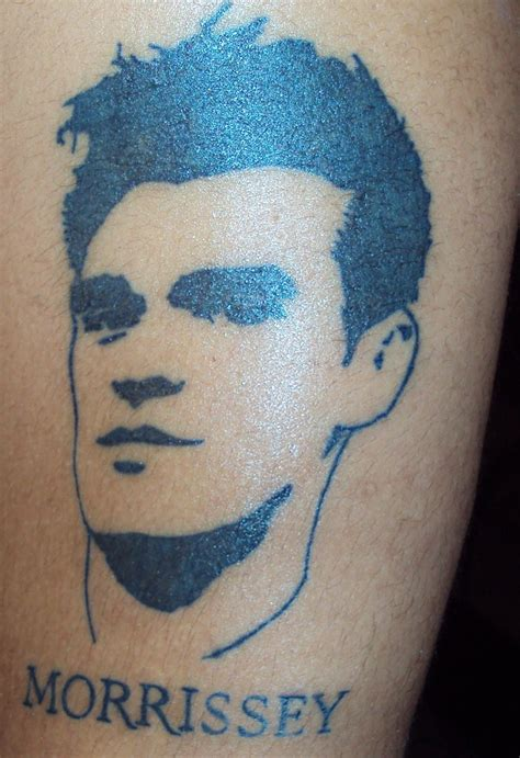 the smiths tattoo morrissey stencil outline peeps