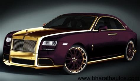 roll royce milano fenice milano purple 24k gold rolls royce ghost to be sold