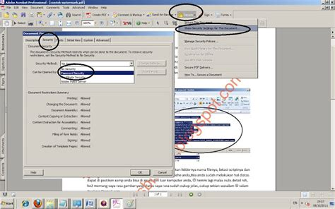 cara membuat watermark di adobe reader cara watermark dokumen pdf dengan software adobe