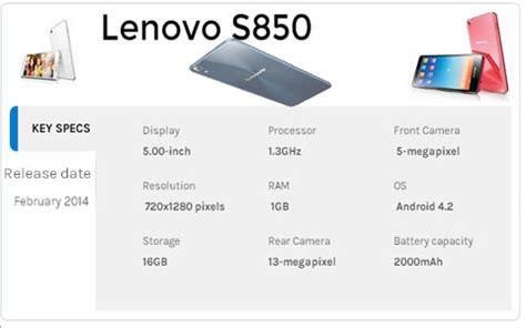 Harga Lenovo S850 review spesifikasi dan harga lenovo s850 2018