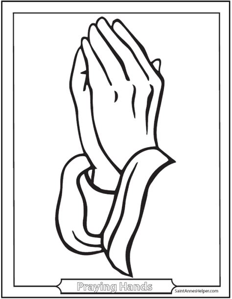 of praying hands free coloring pages on art coloring pages
