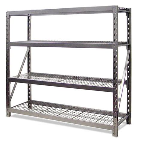 gorilla rack gr 7304n 4 shelf 77 by 24 by 72 inch package