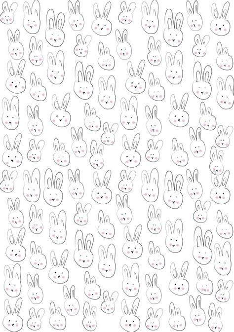 printable gift wrapping paper free printable bunny gift wrapping paper diy gift wrap