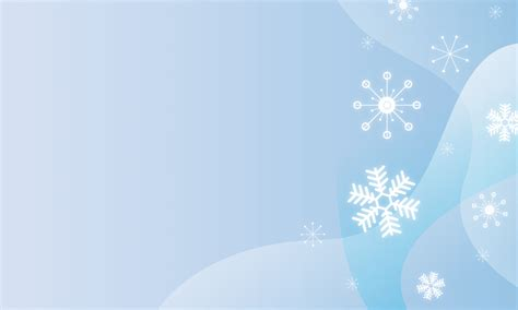 snowflake powerpoint template winter ppt background