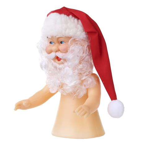 santa claus renuzit air freshener doll plastic and vinyl