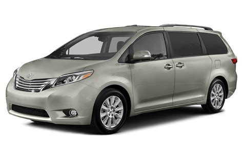 toyota minivan 2015 toyota sienna price photos reviews features