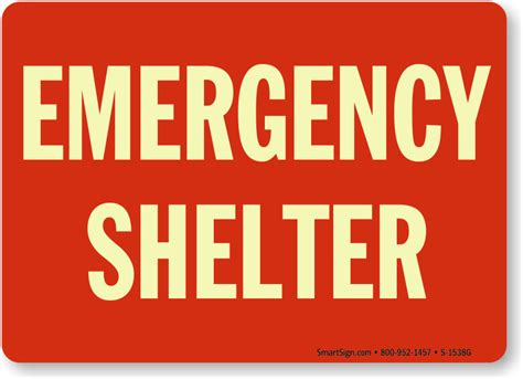 Tenda Emergency Aluminium Emergency Tent Emergency Shelter S Diskon emergency shelter sign glow and emergency signs sku s 1538g