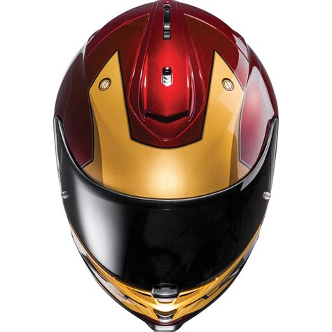 Iron Man Motorradhelm by Hjc Is 17 Iron Man Motorcycle Helmet Limited Edition