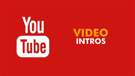 software   youtube intros