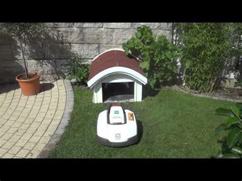 rasenroboter garage selber bauen garage automower doovi