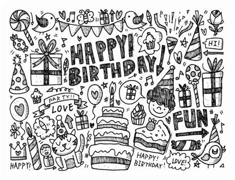 doodle ultah 7 cara membuat doodle name simple 50 contoh gambar