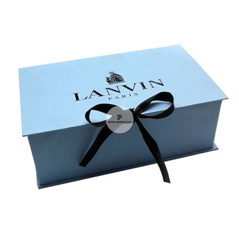 Handmade Paper Box - high end paper boxes with offset logo print foil print