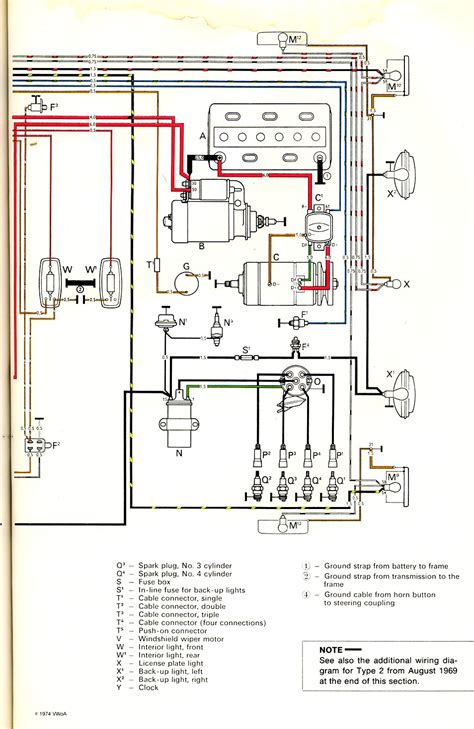 wiring diagram adventures with a vintage vw camper