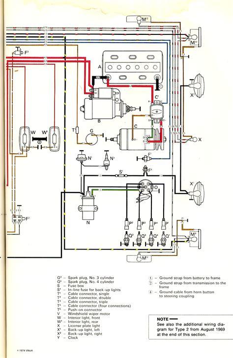 1972 vw beetle starter wiring diagram 2017 2018 best cars reviews