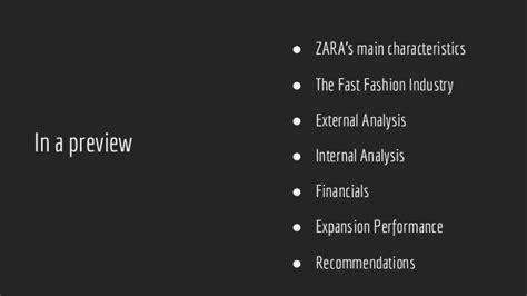 Inditex Mba Program by Zara S Business Strategy