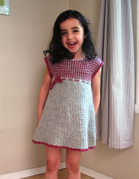 etsy pattern dress kids crochet dress pattern no 14 by ballhanknskein on etsy
