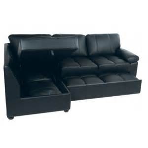 Lina Corner Sofa Bed Lina Chocolate Leather Corner Sofa Bed With Storage Furniture Definition Pictures