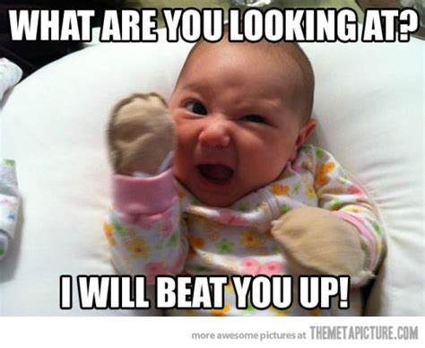 Funny Baby Meme - 35 very funny baby meme pictures and images