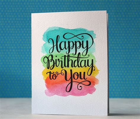 Happy Birthday Handmade Card Designs - best 20 happy birthday cards ideas on diy