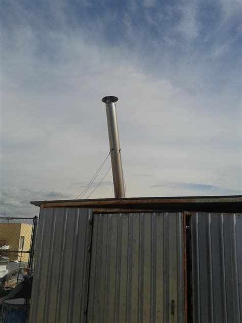 chimenea caldera chimenea para caldera de acero 1 000 00 en mercado libre