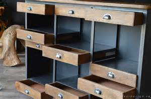 meuble bar industriel comptoir bois m 233 tal micheli design
