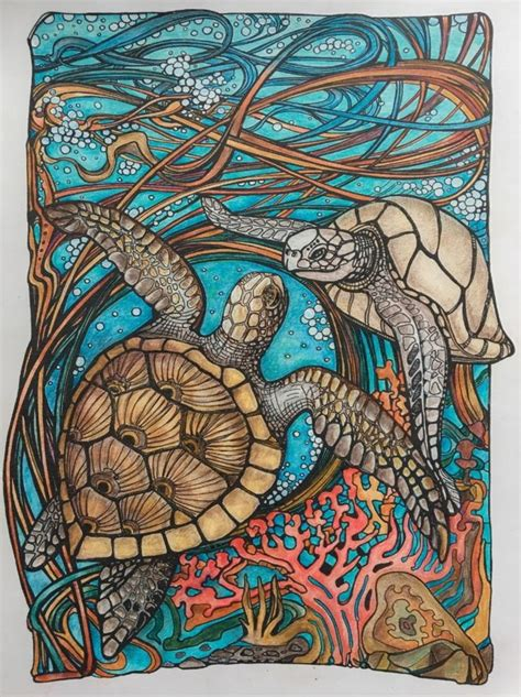 coloring books with colored pencils 475 best colored animal mandalas images on