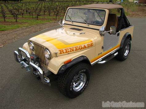Cj7 Jeep For Sale 1981 Jeep Cj7 For Sale Cj7 Jeep Renegade