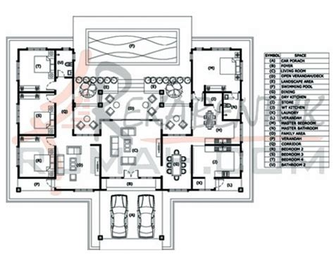 layout rumah 4 bilik pics for gt pelan lantai banglo setingkat 4 bilik
