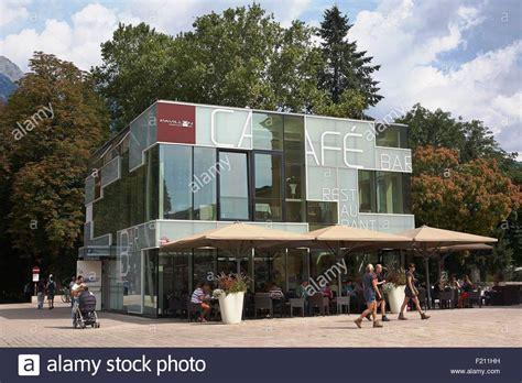 Pavillon Innsbruck by Cafe Pavillon Stockfotos Cafe Pavillon Bilder Alamy