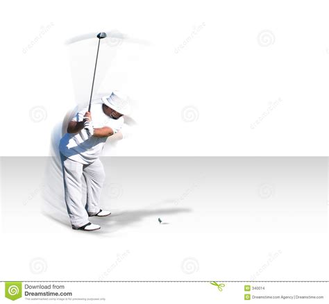 swing in motion golf swing in motion w clip path stock images image