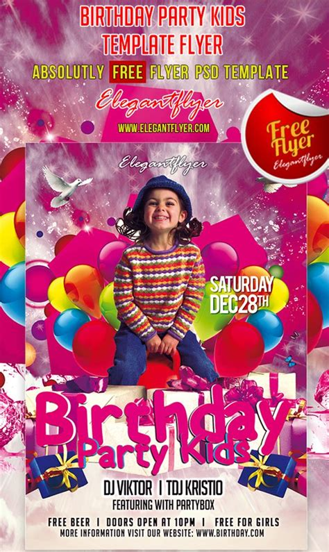 90 Awesome Free Psd Flyer Templates Youth Flyer Template Free