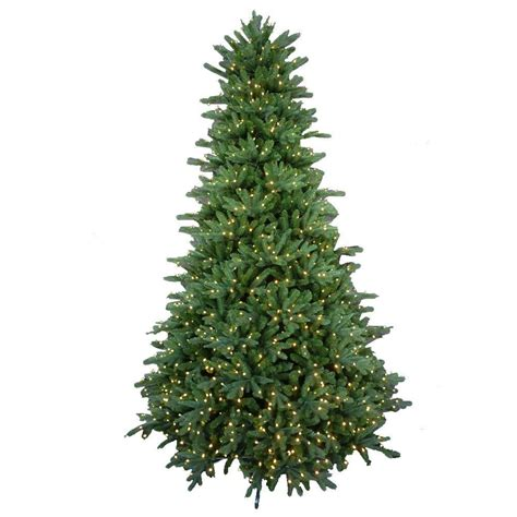 best real christmas trees in south jersey 6 5 ft feel real jersey fraser fir artificial tree with 800 clear lights pejf4 300 65
