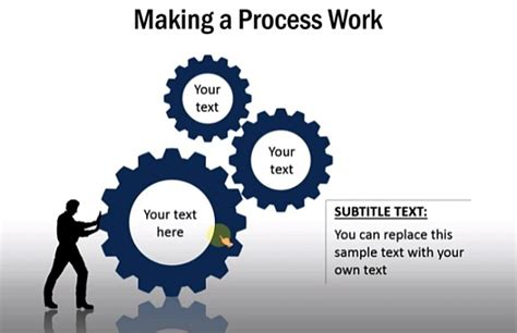 template powerpoint gear how to create gear diagrams in powerpoint using shapes