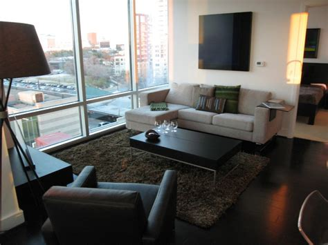 condo living room furniture spring condo austin modern living room austin by